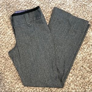 MAURICES DARK HEATHER GRAY DRESS PANTS